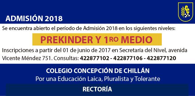 Admisión 2018 promotion copia