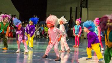 Con música, color y baile se lucen Cocochitos de Prekínder