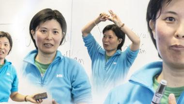 Dra. Yuki Yayama, académica de la Universidad del Bío-Bío, dicta conferencia a alumnos