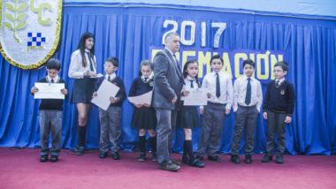 Alumnos destacados en 2017 reciben reconocimiento