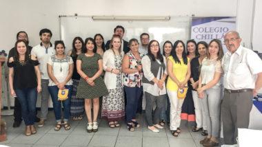 Realizan Encuentro Metodológico de Departamentos de Inglés de los colegios de la Corporación