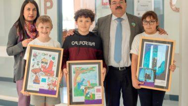 Estudiantes de 4° Básico destacan a nivel nacional en Concurso de Dibujo y Escritura de Editorial Ziemax