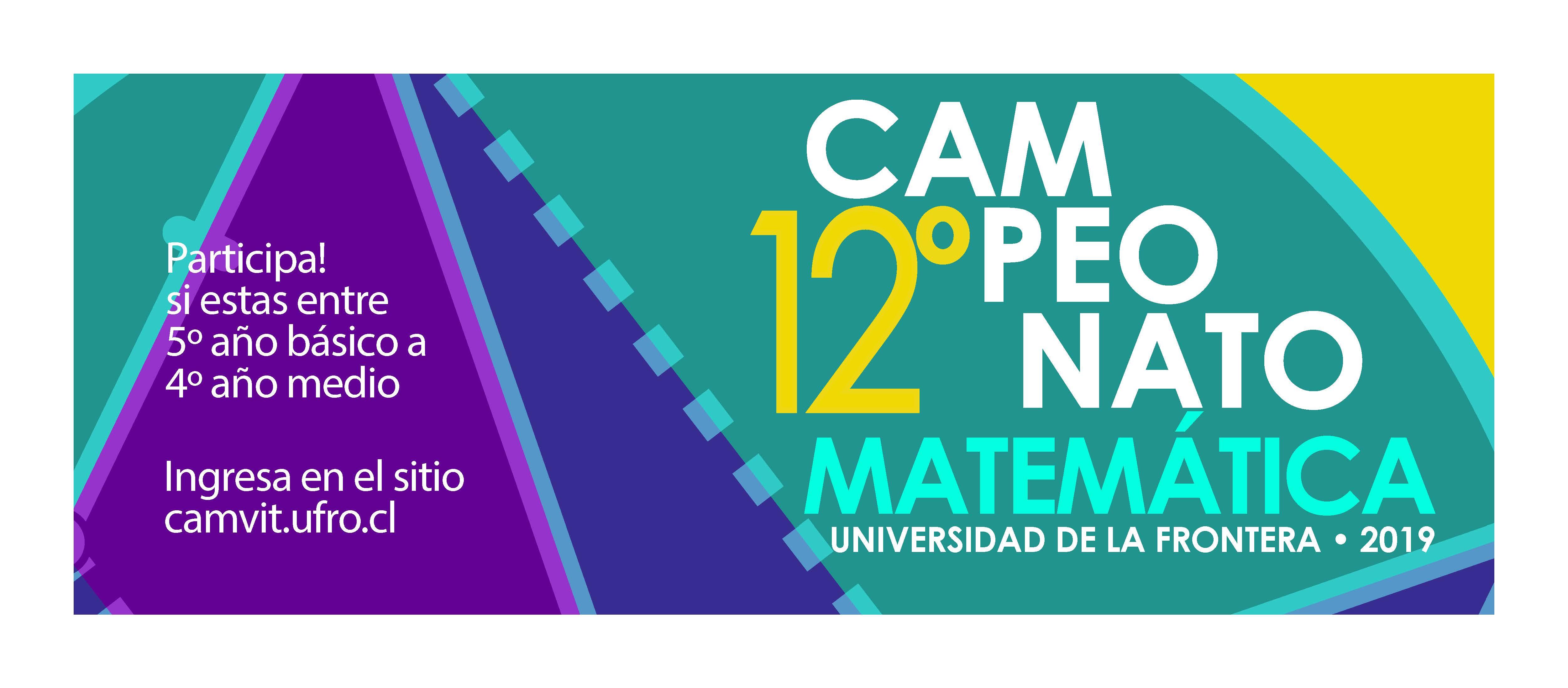 CAMPEONATO DE MATEMÁTICA