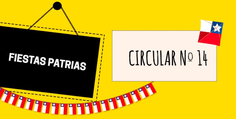 CIRCULAR N°14/2019