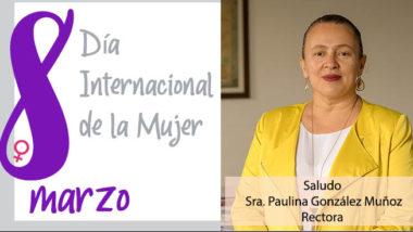 Saludo Día de la Mujer 2020