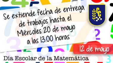 Día Escolar de la Matemática