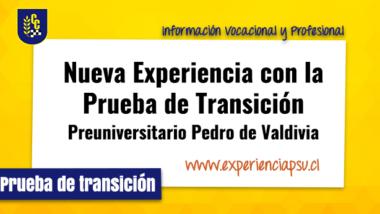 Nueva Experiencia con la Prueba de Transición