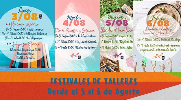 Semana 3: Festival de Talleres, Convivencia Escolar