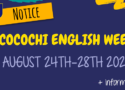 COCOCHI ENGLISH WEEK