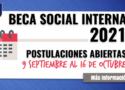 Beca Social Interna 2021