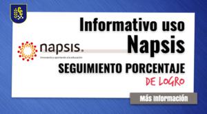 Informativo Uso de Napsis