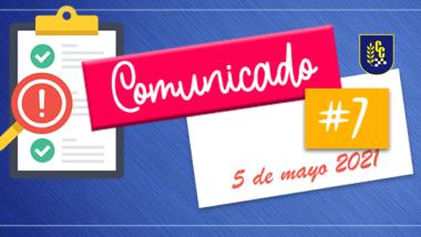 Comunicado Nº 7