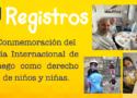 Conmemoración del día Internacional del juego como derecho de niños y niñas.