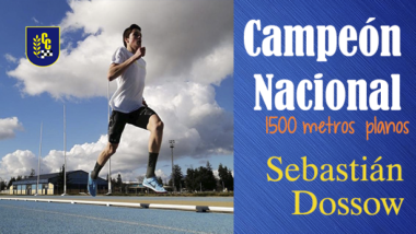 Campeón Nacional Sebastián Dossow Jara