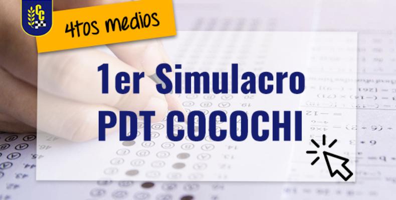 PRIMER SIMULACRO PDT COCOCHI